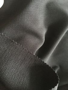 Polyester 4 Way Stretch Ripstop Fabric Spandex Polyester Fabric pictures & photos