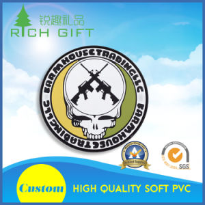 Round Shape Soft PVC Coaster for Wholesale No MOQ pictures & photos