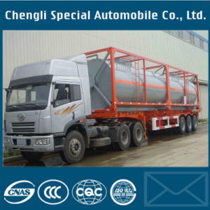 Manufacturing Chemical Equipment Machinery Chemical Container Trailer pictures & photos