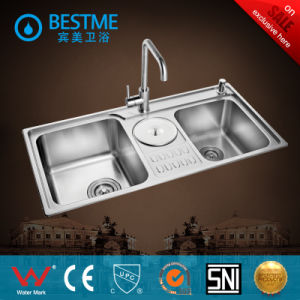 China Hot Sale Stainless Steel Kitchen Sink (BS-7019F) pictures & photos