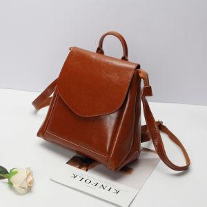 Al90052. Multifunction Leather Backpack Schoolbag Shoulder Bag Fashion Handbags Fashion Backpack Lady Bags Designer Handbags pictures & photos