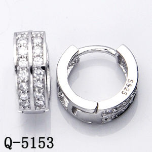925 Silver Earrings Huggies with Factory Price Hotsale pictures & photos