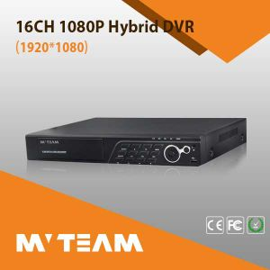 16CH 1080P Ahd Tvi Cvi Cvbs NVR Hybrid 5 in 1 DVR Support 2PCS HDD (6416H80P) pictures & photos