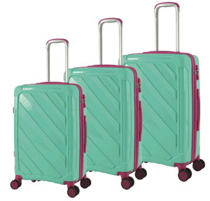 PP Zipper Style Trolley Case in Size 20/24/28 pictures & photos