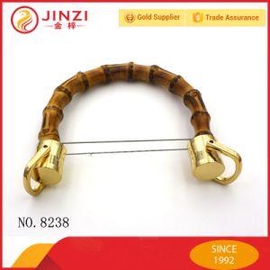 Handbag Bamboo Handle Metal Hardware Metal Cord End