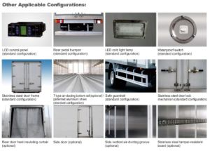 Isuzu 600p Refrigerator Truck (QL5070XLCHKXR) pictures & photos