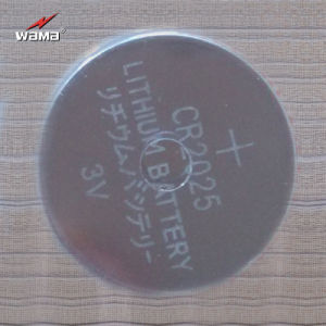 Factory Made Lithium Manganese Button Cell Battery Cr2025 pictures & photos