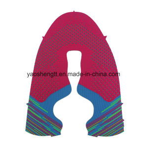 OEM ODM Flat Knit Shoes Upper and Flat Knit Fabric