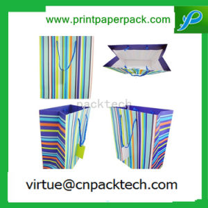 Wholesale Luxury Printing Paper Shopping Gift Bag with Logo Printing pictures & photos