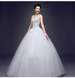 2017 Classic and Elegant Bridal Wedding Dresses mm003 pictures & photos