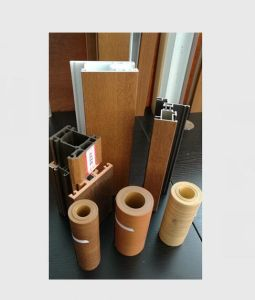 Wooden Grain Cold Wrapping Film (10 year exterior use guarantee) pictures & photos