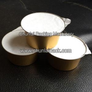 Aluminium Cup Filling Foil Sealing Machine pictures & photos
