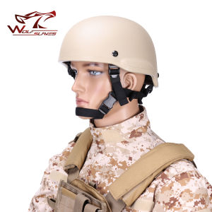 Mich 2002 Glass Fiber Reinforced Helmet Protective Safety Helmet pictures & photos