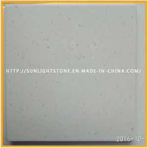 Artificial Snow White Sparkles Quartz for Kitchen Countertop pictures & photos