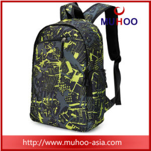 Fashion Black Sports Travel Duffle Backpacks School Bag pictures & photos