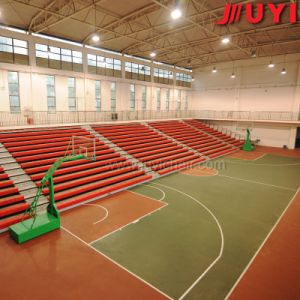 China Supplier Fire-Resistant Aluminum Cricket Wood Folding Stadium Bleacher Chairs Electric Seat pictures & photos