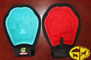 Washing Bath TPR Pet Glove, Dog Skin Glove