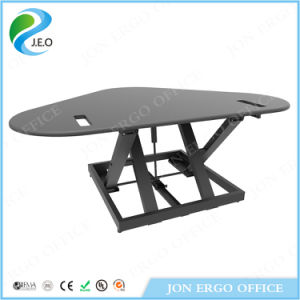 Jeo Ld09ew Customized Table Top Electric Sit Standing Desk pictures & photos