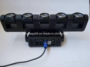 Mini Spider Light 5X10W RGBW LED Spider Moving Head Light pictures & photos
