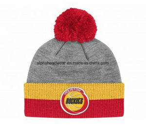 Cheap Promotional POM POM Knit Beanie Hat pictures & photos
