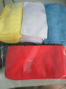 Microfiber Cleaning Cloth/Towel 80%Polyester20%Polyamide 280GSM/310GSM pictures & photos