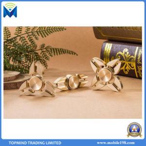 Tri Fidget Hand Spinner Triangle Torqbar Brass Finger Toy EDC Focus Adhd Autism pictures & photos