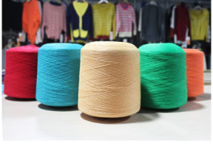 Polyester/Flax 85/15% Ne 20s Yarn for Knitting and Weaving pictures & photos