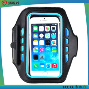 Waterproof Running Fashion Armband Leather Case for iPhone6s Plus 5 pictures & photos