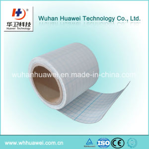 Medical Surgical Fixing Tape PU Film Rolls  Bandage Roller with Adhesive pictures & photos