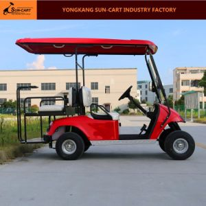 Ce Approved Good Quality 4 Seats Electric Golf Cart pictures & photos