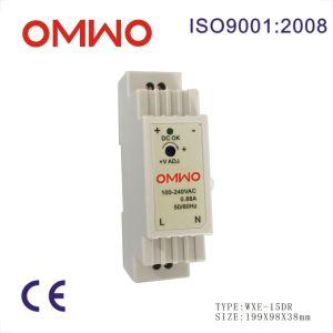 Omwo Wxe-15dr-24 DIN Rail 15W LED Transformer