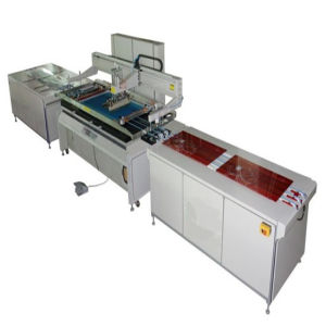 Automatic Vertical Screen Printing Machine pictures & photos