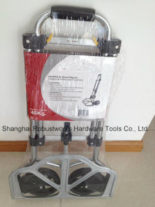 Foldable Aluminium Hand Truck (HT022M-1) pictures & photos