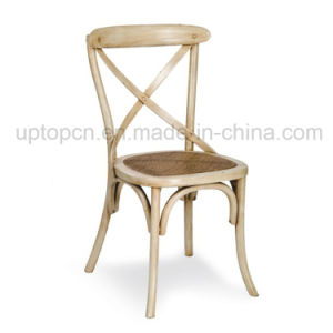 Classical Chinese Wooden Cross Back Chair for Restaurant (SP-EC143) pictures & photos