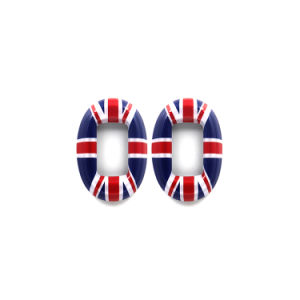 Union Jack Window Regulator Cover Mini Cooper Countryman R60 (4CS/Set)
