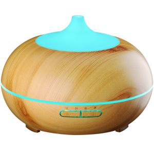 Aroma Humidifiers 300ml Wood Grain Ultrasonic Diffuser for SPA/Yoga/Home/Office/Bedroomn pictures & photos