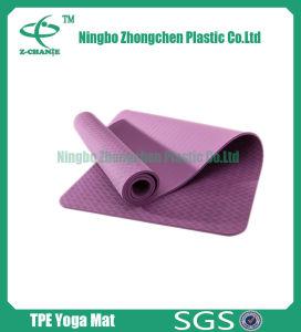 TPE Yoga Mat for Exercise Anti Slip TPE Yoga Mat pictures & photos