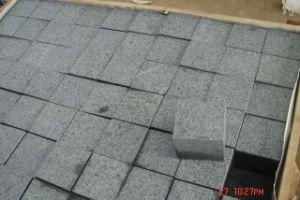 Black Basalt Paving Cube in Split pictures & photos