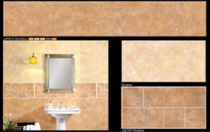 Waterproof Glazed Interior Ceramic Wall Tile for Kitchen and Bathroom pictures & photos