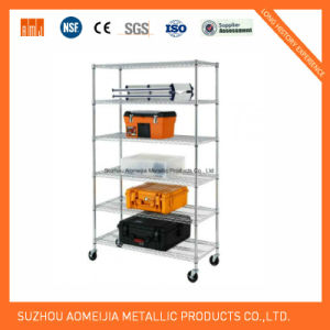 6-Shelf Shelving Unit - Chrome pictures & photos