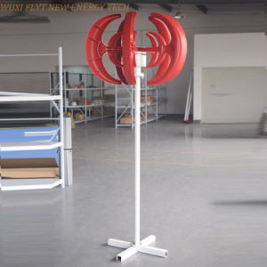 Wind Turbine Vertical 200W AC 12V for Show pictures & photos