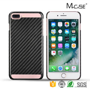 Simple Universal Cell Phones Mobile Accessories Battery Case for iPhone 7 Plus Carbon Fiber Cover pictures & photos