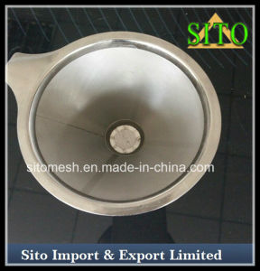 Innovative Coffee Filter 304 Stainless Steel Pour Over Coffee Dripper
