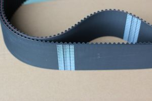 Black Rubber Tming Belt From Ningbo pictures & photos
