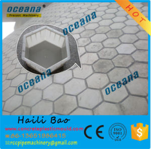 High Quality Plastic Moulds for Hexagonal Concrete Pavers pictures & photos