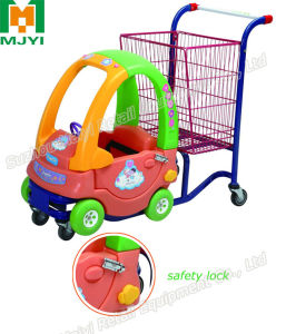 Children Shopping Trolley Baby Trolley Plastic Shopping Cart pictures & photos