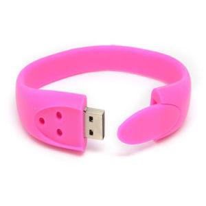 2016 Hot Sale Gift Custom PVC USB Flash Drive Bracelet pictures & photos