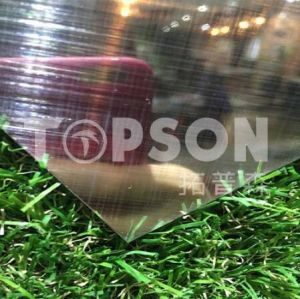 201 304 Metal Materials Stainless Steel Hairline Cross Hairline Stainless Steel Sheet pictures & photos