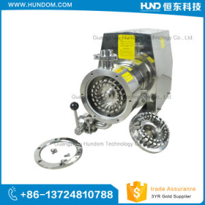 Stainless Steel High Shear Emulsion Pump with Hopper pictures & photos