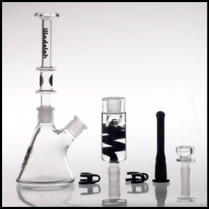 New 2017 Illadelph Great Function Recycler Glass Water Pipe Shisha Thick Smoking Hookah Hand Blown Heady Tobacco Wholesale pictures & photos
